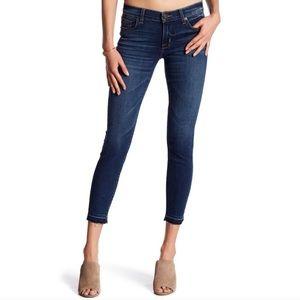 EUC Hudson Krista Crop Super Skinny Jeans Sz 27